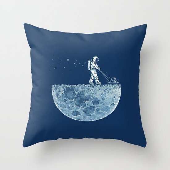 Mown Throw Pillow