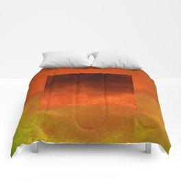Square Composition VII Comforters