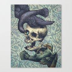 Bowerbirds Canvas Print