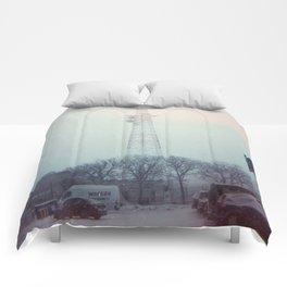 light leaks in snow Comforters