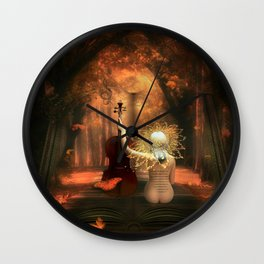 THE BACKROADS JOURNAL Wall Clock