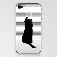 Cat Scratch iPhone & iPod Skin