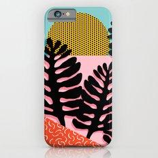 B.F.F. - throwback 80s style memphis design neon art print hipster brooklyn palm springs resort patt Slim Case iPhone 6