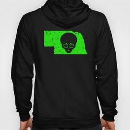 UFO Nebraska Alien Guide To Extraterrestrials Shirt Hoody