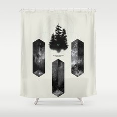PILLARS OF CREATION Shower Curtain