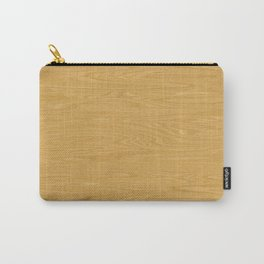 Oak Wood Texture Carry-All Pouch