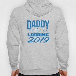 Baby Is Loading Boy Girl For Dad Announcement Gift Hoody