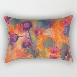 Flowers 1976 Rectangular Pillow