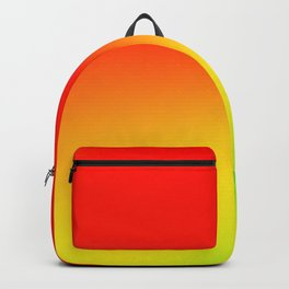 green red yellow texture art Backpack