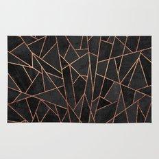 Shattered Black / 2 Rug