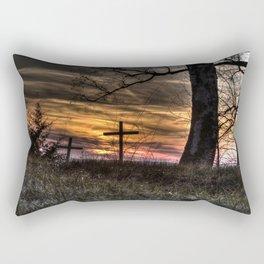 May your faith sustain you Rectangular Pillow