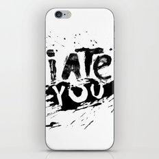 Ate you iPhone & iPod Skin