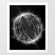 Planetary Explosion Art Print