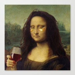 Drunk Lisa Canvas Print