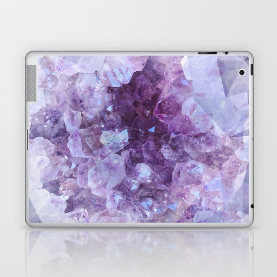 Crystal Gemstone Laptop & iPad Skin