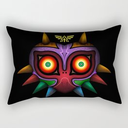 The Mask Of Majora Rectangular Pillow