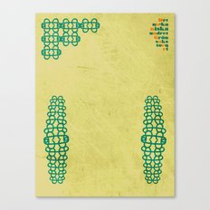 Magasinsgatan original artwork by Det mekaniska undret Canvas Print