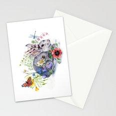 Spring Jackalope Stationery Cards
