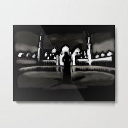 61 - minarets and a shadow Metal Print