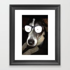 Mr. Cool Framed Art Print
