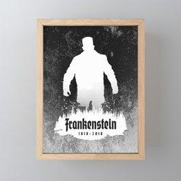Frankenstein 1818-2018 - 200th Anniversary INV Framed Mini Art Print