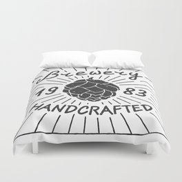Brewery Handcrafted Fashion Modern Design Print! Beer style Duvet Cover