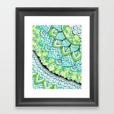 Sharpie Doodle 3 Framed Art Print