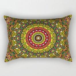 Persian kaleidoscopic Mandala G510 Rectangular Pillow