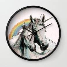 Unicorn III Wall Clock