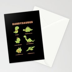 DANDYSAURUS - Dark Version Stationery Cards