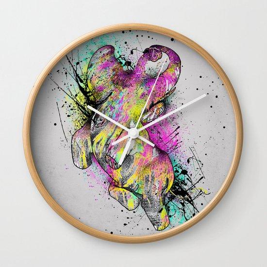 ELE'Paint Wall Clock