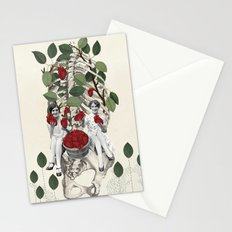 Hearts *collage Stationery Cards