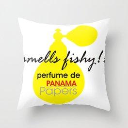 Perfume De Panama Throw Pillow