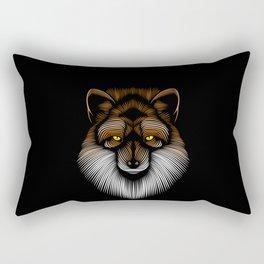 Lines Fox Rectangular Pillow