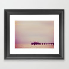 Over the ocean Framed Art Print