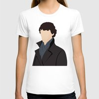 sherlock T-shirts featuring Sherlock by Jessica Slater Design & Illustration