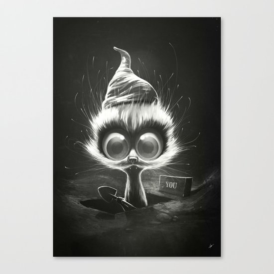 Night Shift (夜勤) Canvas Print