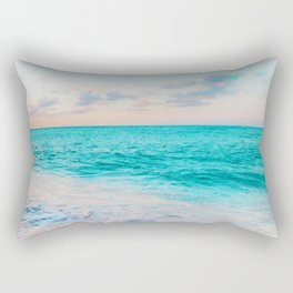 Ocean Bliss #society6 #society6artprint #buyart Rectangular Pillow