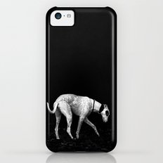 silver shadow iPhone 5c Slim Case