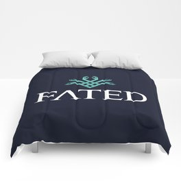 FATED : The Silent Oath - Logo Comforters
