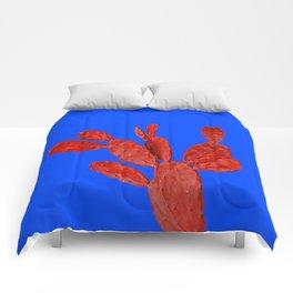 Minimal cactus Comforters