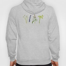 Tea Flowers Hoody