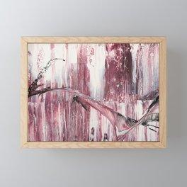 Pale pink Framed Mini Art Print