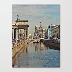 Sankt Petersburg Canvas Print