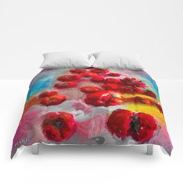 Homegrown Tomatoes Comforters