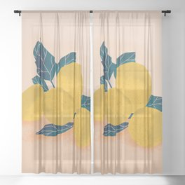 Harvest Sheer Curtain