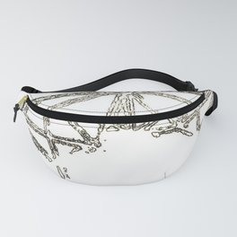 Melted geometry Fanny Pack