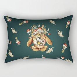 Toadstool Spirit Rectangular Pillow