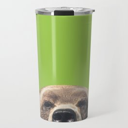 Bear - Green Travel Mug