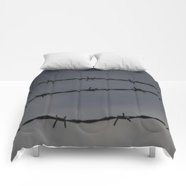Barb Wire II Comforters